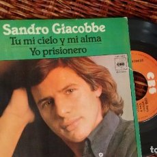 Dischi in vinile: SINGLE (VINILO) DE SANDRO GIACOBBE AÑOS 70. Lote 223299550