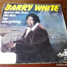 Discos de vinilo: BARRY WHITE - YOU'RE THE FIRST, THE LAST MY EVERYTHING, MORE THAN EVERYTHING - SINGLE MOVIEPLAY 1974. Lote 223327961
