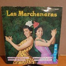 Discos de vinilo: LAS MARCHENERAS / POR PASCUA O SEMANA SANTA / EP - BELTER-1961 / MBC. ***/***. Lote 223332258