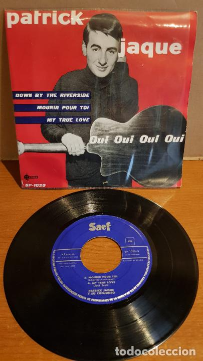 PATRICK JAQUE / OUI OUI OUI OUI / EP - SAEF-1959 / MBC. ***/*** (Música - Discos de Vinilo - EPs - Canción Francesa e Italiana)
