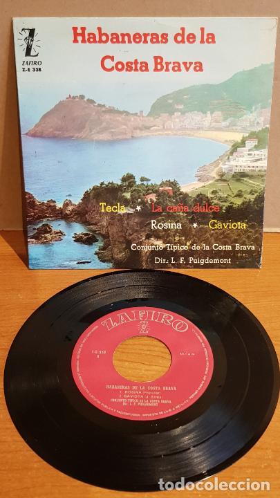 EL NOI DE PALAFRUGELL / HABANERAS DE LA COSTA BRAVA / EP - ZAFIRO-1962 / MBC. ***/*** (Música - Discos de Vinilo - EPs - Country y Folk)