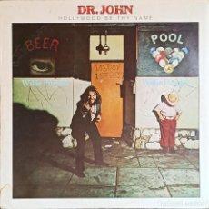 Discos de vinilo: DR. JOHN – HOLLYWOOD BE THY NAME- DISCO VINILO LP 33RPM - 1975 - JAZZ, FUNK. Lote 223335826