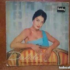 Discos de vinilo: DALIDA - LES GITANS + 3 (EP) 1959. Lote 223335958