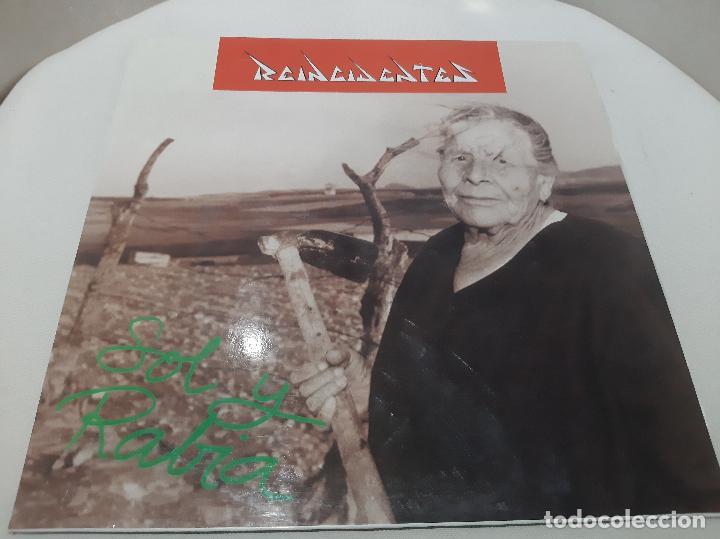 REINCIDENTES -SOL Y RABIA- (1993) LP DISCO VINILO (Música - Discos - LP Vinilo - Punk - Hard Core)