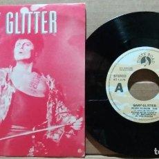 Discos de vinil: GARY GLITTER / READY TO ROCK / SINGLE 7 INCH. Lote 223362006