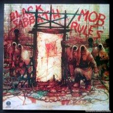 Discos de vinilo: BLACK SABBATH MOB RULES - LP REEDICION - VERTIGO. Lote 223368007