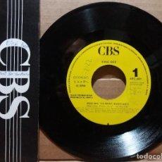 Discos de vinilo: KING BEE / MUST BEE THE MUSIC / SINGLE 7 INCH. Lote 223369030