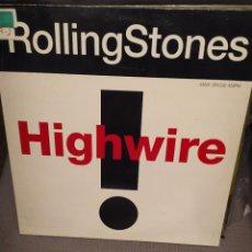Discos de vinilo: ROLLING STONES: HIGHWIRE MAXI SINGLE 1991 ED ESPAÑA. Lote 223376675