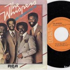 Discos de vinilo: THE WHISPERS - AND THE BEAT GOES ON - SINGLE DE VINILO EDICION ESPAÑOLA. Lote 264184936