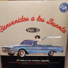 Discos de vinilo: BIENVENIDOS A LOS SESENTA VOL 2 -PDI VICTORIA RECORDS ED ESPAÑA LP DOBLE. Lote 223380702