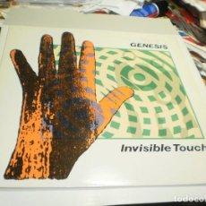 Discos de vinilo: LP GENESIS. INVISIBLE TOUCH. CHARISMA RECORDS 1986 UK FUNDA INTERIOR CON LETRAS (PROBADO, BIEN). Lote 223386235