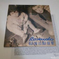 Discos de vinilo: ROSENDO DEJA QUE LES DIGA QUE NO, LP'91. Lote 223404241