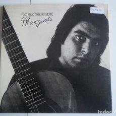Discos de vinilo: MANZANITA POCO RUIDO Y MUCHO DUENDE CBS 1978. Lote 223408447