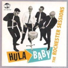 Discos de vinilo: HULA BABY - THE ROCHESTER SESSIONS (SINGLE 7'' KOTJ 2012) GARAGE. Lote 223409301