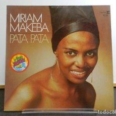 Discos de vinilo: DISCO VINILO LP. MIRIAM MAKEBA - PATA PATA. EDICIÓN ALEMANIA. 33 RPM.. Lote 223410983