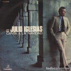 Discos de vinilo: JULIO IGLESIAS – JULIO IGLESIAS CANTA A LA NAVIDAD. Lote 223411282