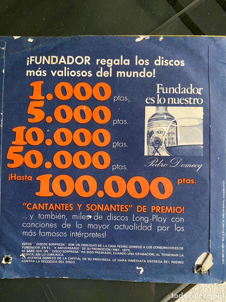 Discos de vinilo: disco sorpresa. los marismeños - Foto 2 - 223421772