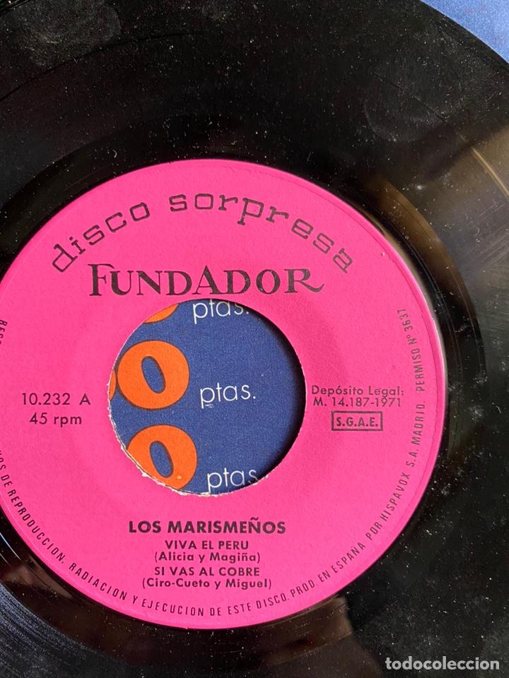 Discos de vinilo: disco sorpresa. los marismeños - Foto 3 - 223421772