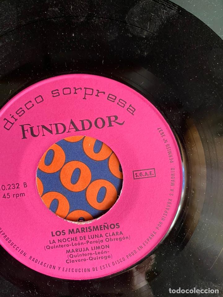 Discos de vinilo: disco sorpresa. los marismeños - Foto 4 - 223421772