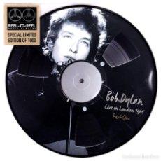 Discos de vinilo: BOB DYLAN * LP VINILO PICTURE DISC * LIVE IN LONDON 1965 PART ONE * LTD 1000 COPIAS * RARE. Lote 223421848