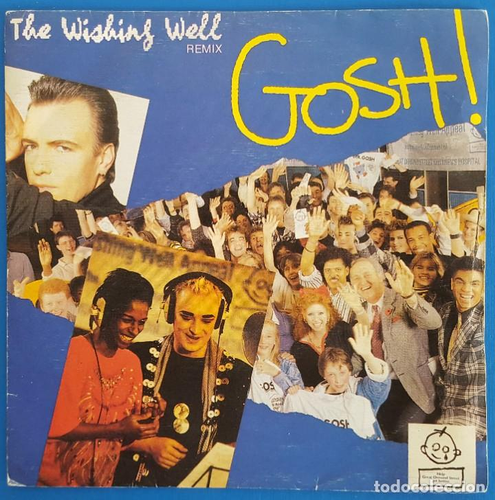 SINGLE / G.O.S.H. / THE WISHING WELL / DIAPASON GOSH R 1 - 53 0103 / 1988 (Música - Discos de Vinilo - Singles - Pop - Rock Internacional de los 80)