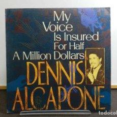 Discos de vinilo: DISCO LP. DENNIS ALCAPONE - MY VOICE IS INSURED FOR HALF A MILLION DOLLARS. EDICIÓN INGLATERRA.. Lote 223439160