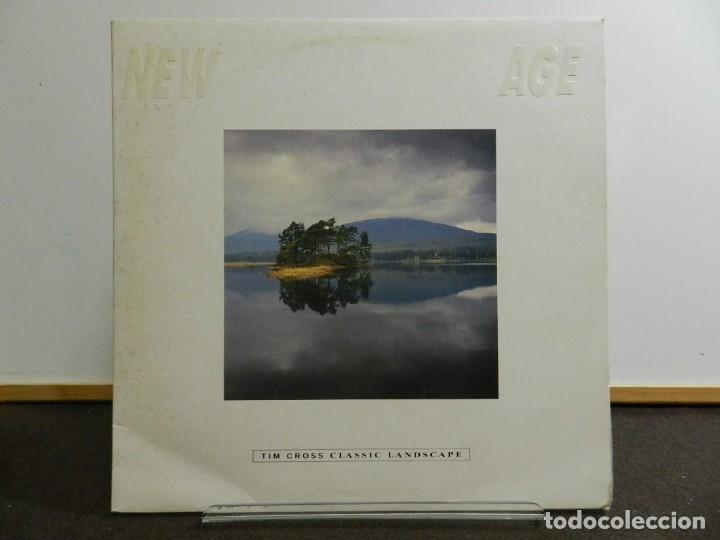 DISCO VINILO LP. TIM CROSS - CLASSIC LANDSCAPE. EDICIÓN CANADÁ. 33 RPM. (Música - Discos - LP Vinilo - Electrónica, Avantgarde y Experimental)