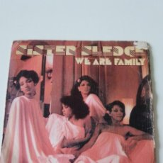 Dischi in vinile: SISTER SLEDGE WE ARE FAMILY / EASIER TO LOVE ( 1979 ATLANTIC HISPAVOX ESPAÑA ). Lote 223451182