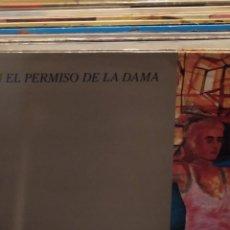 Discos de vinilo: CON EL PERMISO DE LA DAMA: MINI LP 6 CANCIONES CHAPÓ RECORDS 1986. Lote 223451856