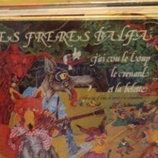 Disques de vinyle: LES FRERES BALFA: J´AI VU LE LOUP LE RENARD ET LA BELETTE LP GUIMBARDA 1979 INCLUYE LIBRETO. Lote 223452937