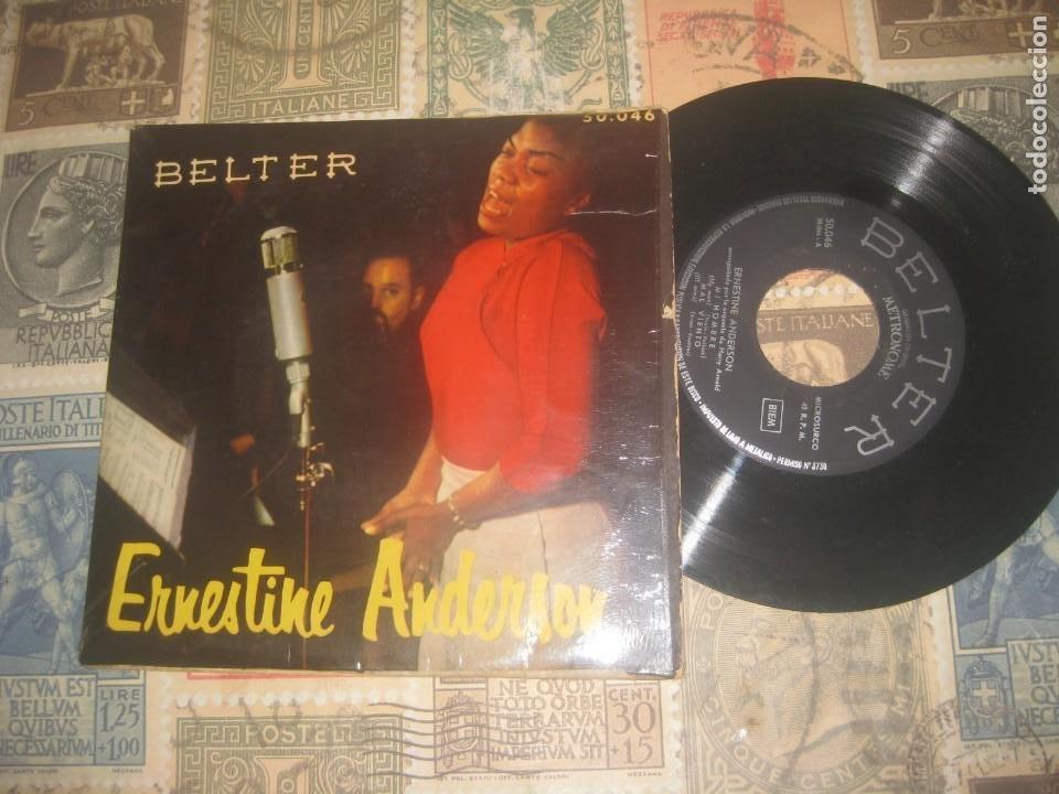 ERNESTINE ANDERSON - MY MAN + 3 (EP DE 4 CANCIONES)( BELTER 195?) OG ESPAÑA (Música - Discos de Vinilo - EPs - Jazz, Jazz-Rock, Blues y R&B)