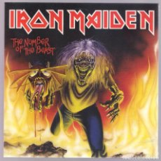 Discos de vinilo: IRON MAIDEN - THE NUMBER OF THE BEAST ( SG 7'' 2014) NUEVO Y PRECINTADO. Lote 223473207