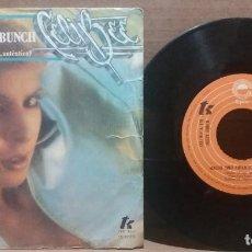 Discos de vinilo: CELI BEE / MACHO (UNO AUTENTICO, AUTENTICO) / SINGLE 7 INCH. Lote 223494697