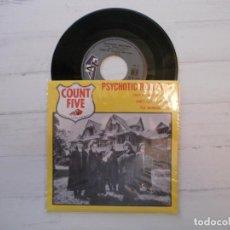 Discos de vinilo: COUNT FIVE – PSYCHOTIC REACTION REEDICIÓN EP FRANCIA 2010 (1966) EX/NM. Lote 223504963