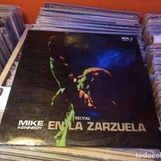 Disques de vinyle: MIKE KENNEDY LOS BRAVOS EN LA ZARZUELA1970 1 LP. Lote 223505871