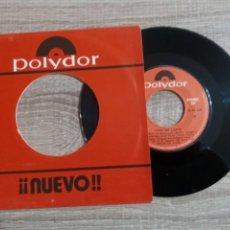 Discos de vinilo: PEPE DE LUCIA .SINGLE 1975.PIERDETE Y NO ME VENGAS A CAMELAR.. Lote 223516542
