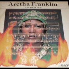 Discos de vinilo: V1105 - ARETHA FRANKLIN. GREATEST HITS. LP VINILO. Lote 223516726