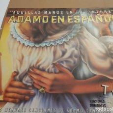 Discos de vinilo: AQUELLAS MANOS EN TU CINTURA. ADAMO EN ESPAÑOL. DOBLE LP. LAS 24 MEJORES CANCIONES. Lote 223521621