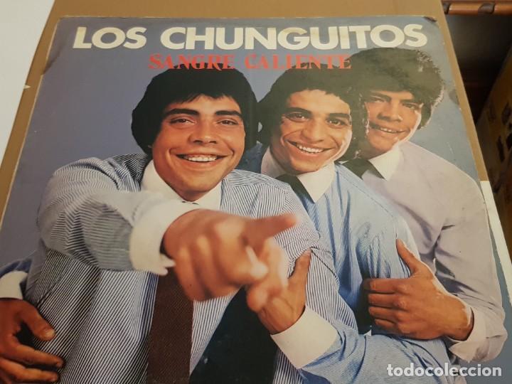 OS CHUNGUITOS - SANGRE CALIENTE LP 1981 SPAIN PROMO (Música - Discos - LP Vinilo - Flamenco, Canción española y Cuplé)
