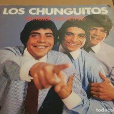 Discos de vinilo: OS CHUNGUITOS - SANGRE CALIENTE LP 1981 SPAIN PROMO. Lote 223521942
