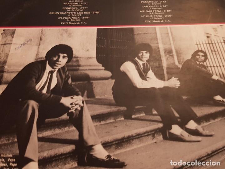Discos de vinilo: OS CHUNGUITOS - SANGRE CALIENTE LP 1981 SPAIN PROMO - Foto 3 - 223521942