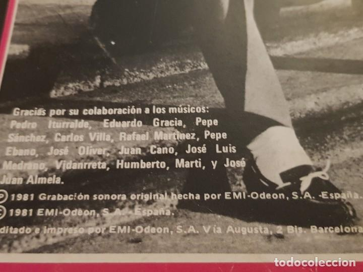 Discos de vinilo: OS CHUNGUITOS - SANGRE CALIENTE LP 1981 SPAIN PROMO - Foto 4 - 223521942