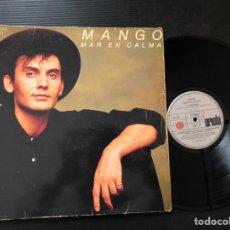 Discos de vinilo: MANGO – MAR EN CALMA. SYNTH-POP. Lote 223524195