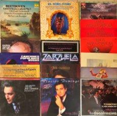 Discos de vinilo: LOTE 22 DISCOS MÚSICA CLASSICA. Lote 223527423