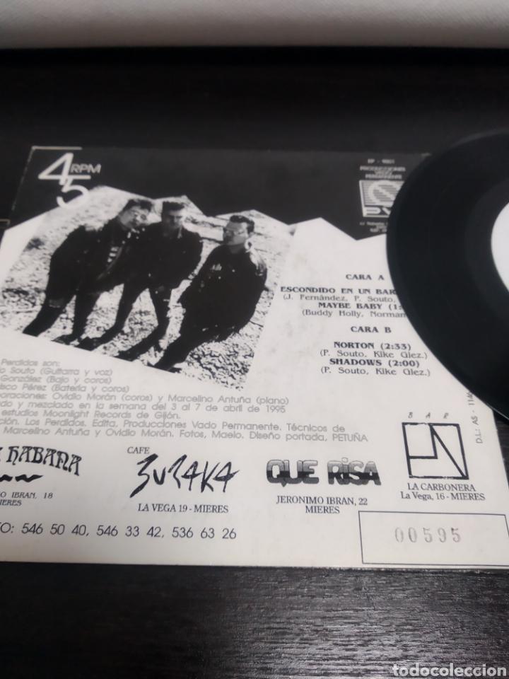 Discos de vinilo: LOS PERDIDOS. EP. ESCONDIDO EN UN BARDIAL. - Foto 6 - 223528157