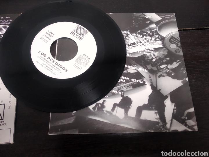 Discos de vinilo: LOS PERDIDOS. EP. ESCONDIDO EN UN BARDIAL. - Foto 7 - 223528157