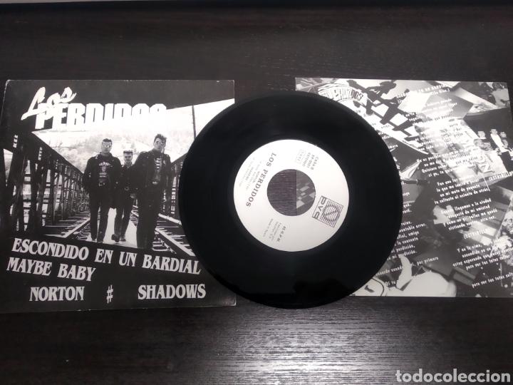 LOS PERDIDOS. EP. ESCONDIDO EN UN BARDIAL. (Música - Discos de Vinilo - EPs - Grupos Españoles de los 90 a la actualidad)