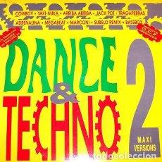 Discos de vinilo: DANCE & TECHNO 2 - LP BARCELONA URBAN SOUND SPAIN 1993. Lote 223533046