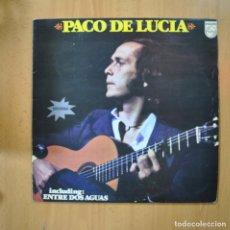 Dischi in vinile: PACO DE LUCIA - PACO DE LUCIA - LP. Lote 223555936