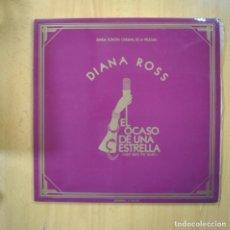Disques de vinyle: DIANA ROSS - EL OCASO DE UNA ESTRELLA - GATEFOLD - LP. Lote 223555993